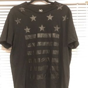 Express Men's Graphic Tee/ Size Large/ Light Wear